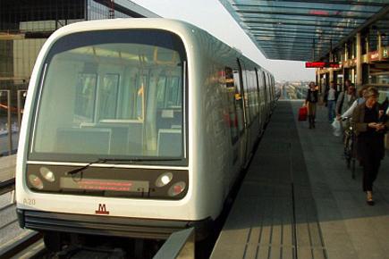 Kodaň a metro
