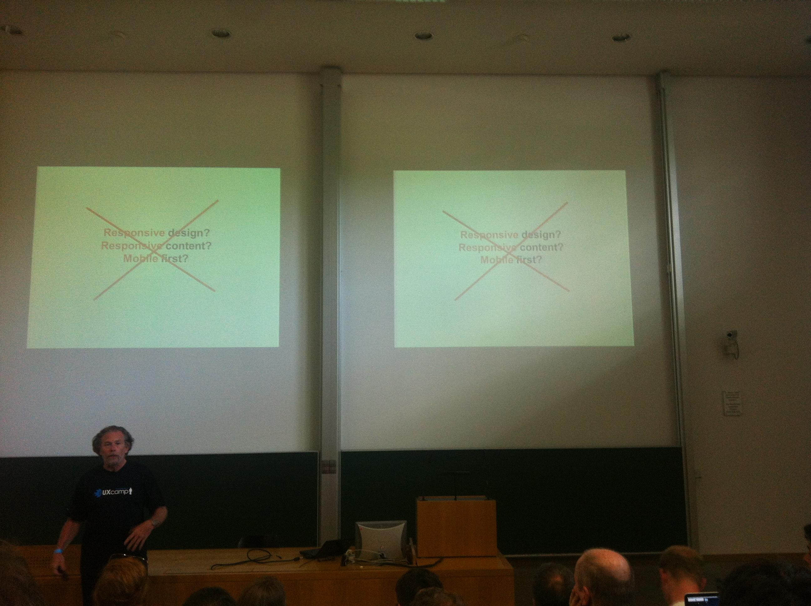UXcamp Europe 2013 - Eric Reiss