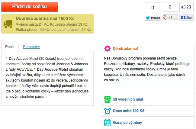 Prezentace konkurenčních výhod - vasecocky.cz