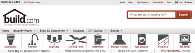 Ikony kategorií u menu