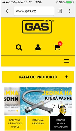 Dvě navigace gas.cz